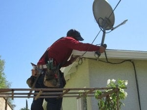 Broken Gutter Repair on Residential Property