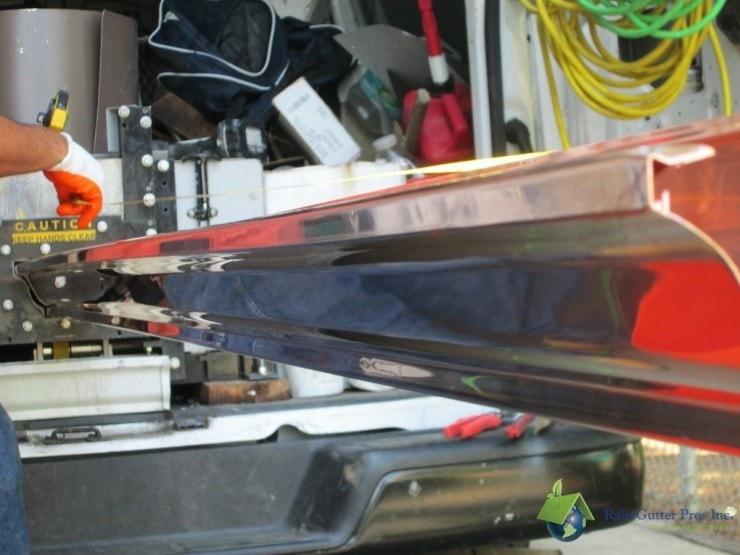Seamless Copper Rain Gutters Rain Gutter Pros Inc