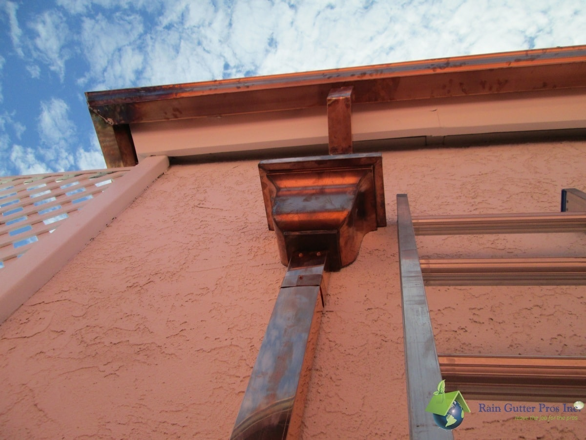 Photo Gallery Copper Gutters Rain Gutter Pros Inc