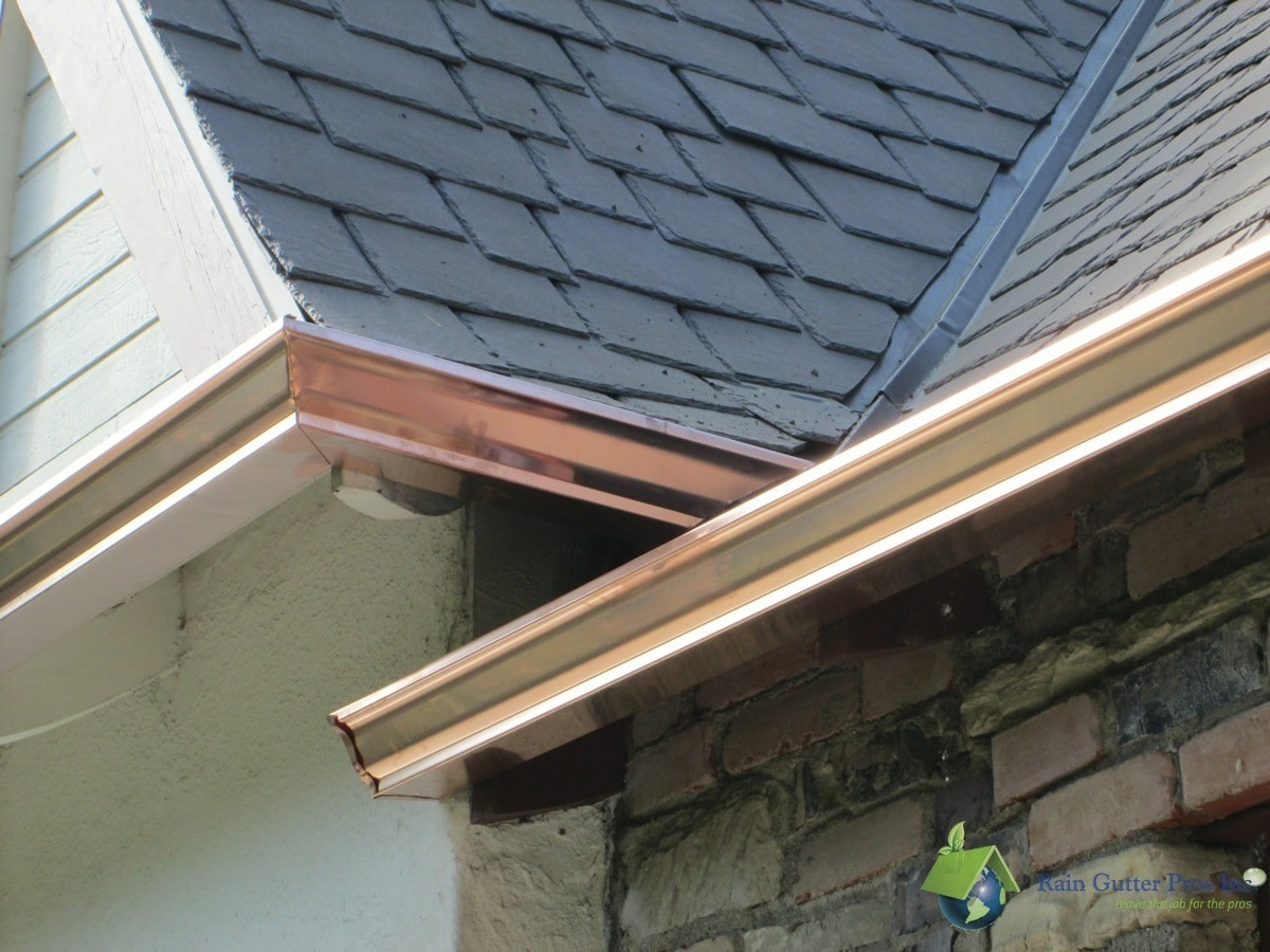 Photo Gallery Copper Gutters Rain Gutter Pros Inc