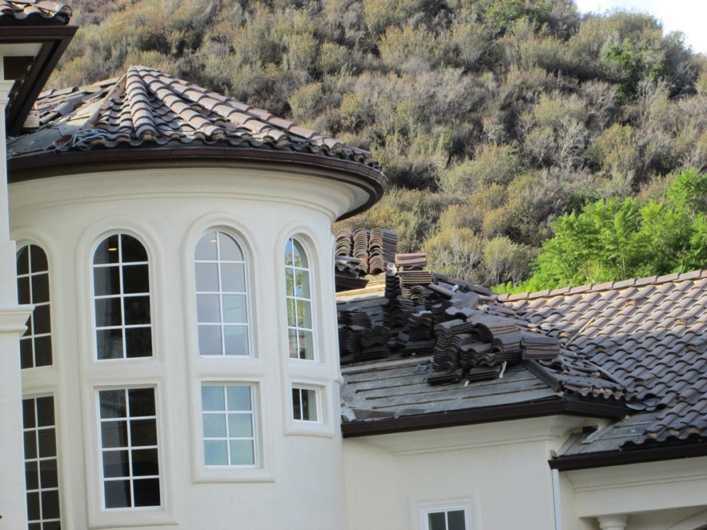 "santa clarita - custom gutter work for tower section, custom work by pices - 10""x1' pieces"