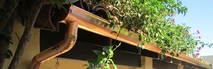 How to paint aluminum gutters rain gutter pros inc for Painting aluminum gutters