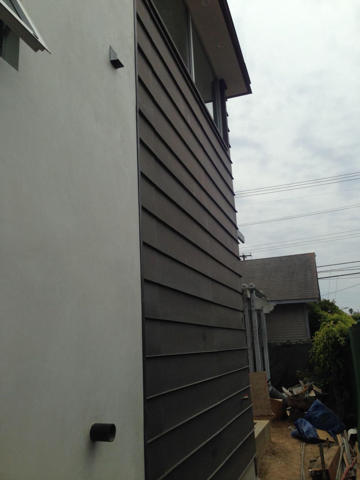 Custom Bonderized Horizontal Siding Hollywood 90069 2