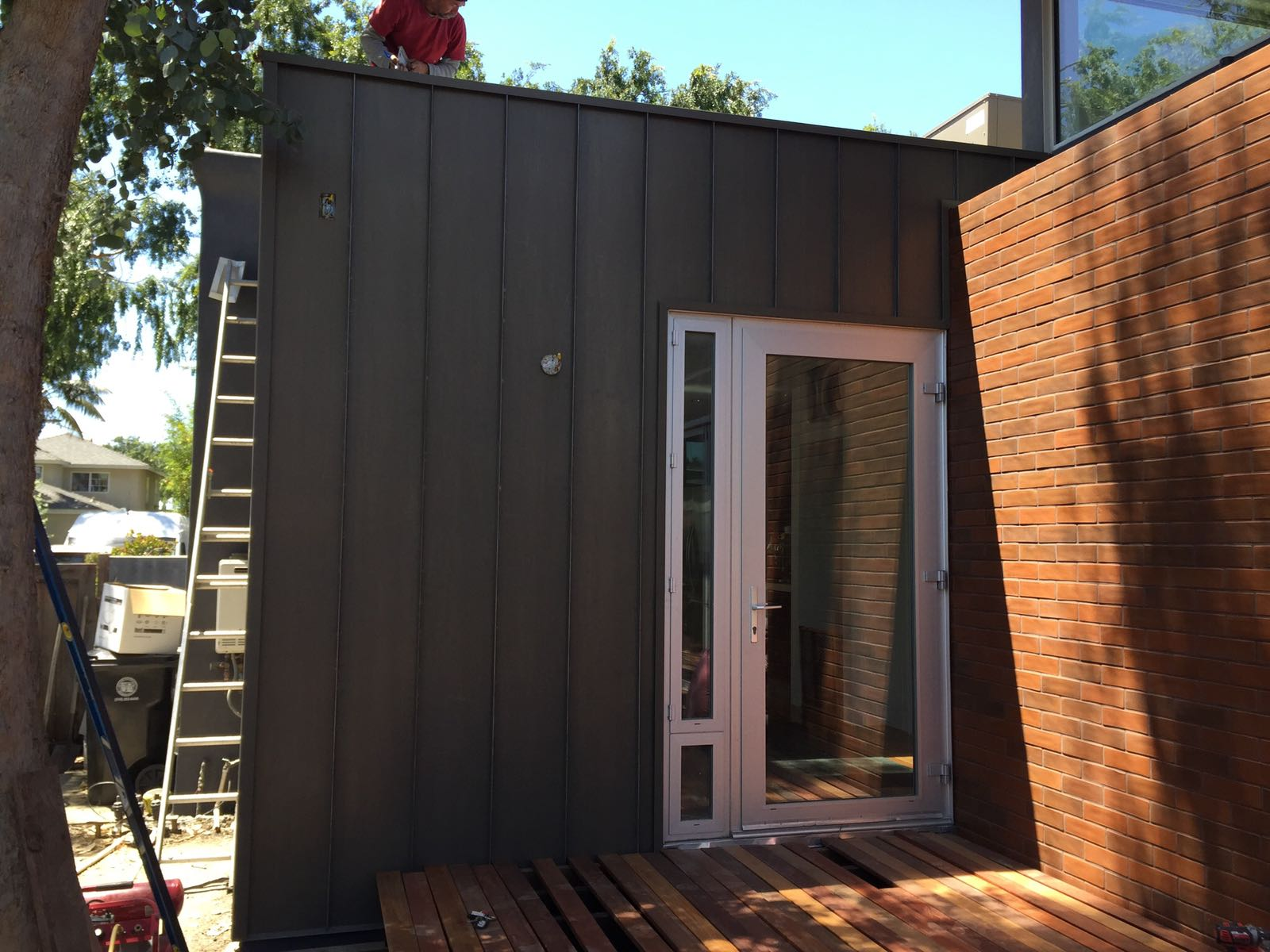 Fascia Cover Standing Seam Vertical Siding Custom Box