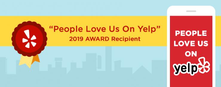 Yelp Award 2019